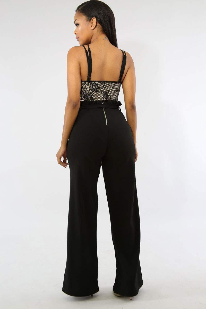 Ophestin Wide Pants Black