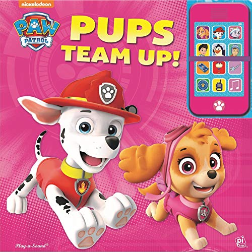 (Nickelodeon PAW Patrol - Pups Team Up! Toy Phone and Book Combo - PI Kids)