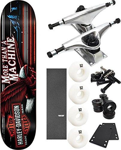 【日本限定モデル】 DarkstarスケートボードHarley Davidson Highwayスケートボード8