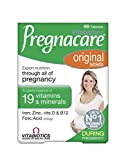 Pregnacare Vitabiotics Original Dietary Supplement 90 Tablets Review