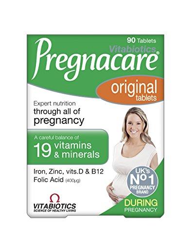 Pregnacare Vitabiotics Original Dietary Supplement 90 Tablets