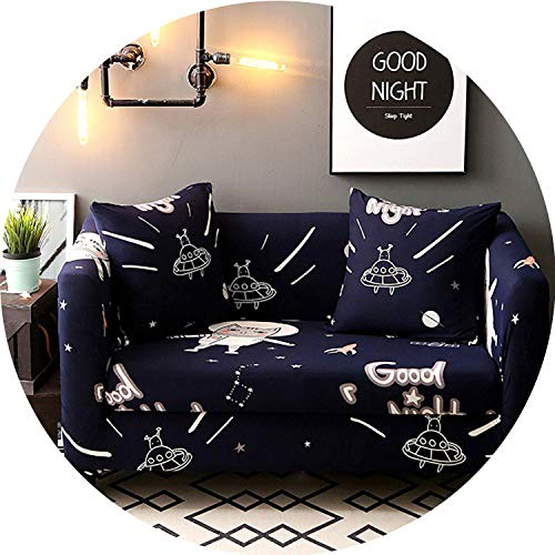 I'm good at you Universal Sofa Cover Flexible Stretch Big Elasticity Couch Cover Loveseat Sofa Furniture Cover Sofa Towel 1/2/3/4-seat Sofa Funda,07,3 Seats ()