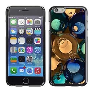 PC/Aluminum Funda Carcasa protectora para Apple Iphone 6 Plus 5.5 svetilnik shary steklo cvet / JUSTGO PHONE PROTECTOR