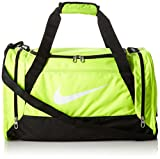 Nike Brasilia 6 Medium Sports Duffel Gym Bag Volt/Black/White Review