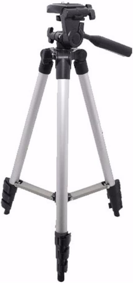 Tall Tripod and Replacement LP-E6 Battery with 3pc Cleaning Kit for 5DS 5DS R 60D 60Da Canon