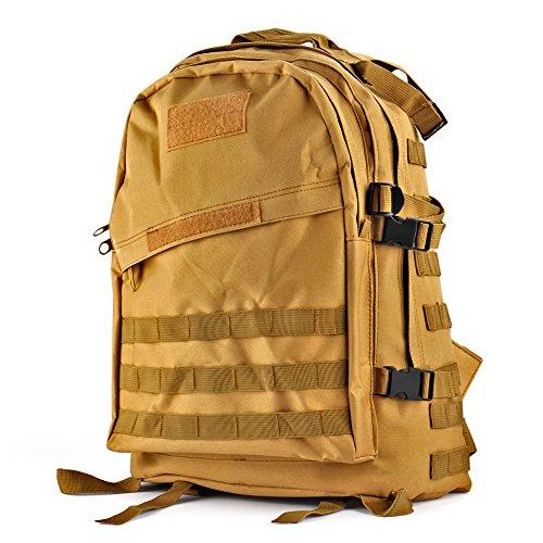 Waterproof 600D Oxford Waist Bag Tactical Molle EDC Outdoor Bag - 9