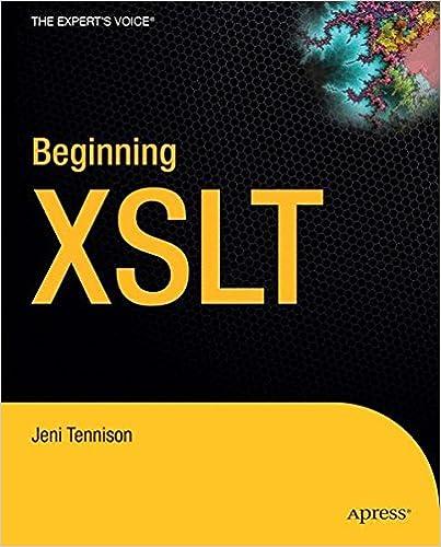 Bestseller eBook-Sammlung Beginning XSLT ePub by Jeni Tennison