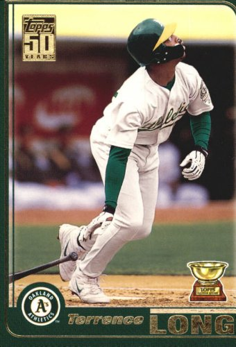 2005 Topps Rookie Cup Reprints Baseball Rookie Card #120 Terrence Long Near Mint/Mint