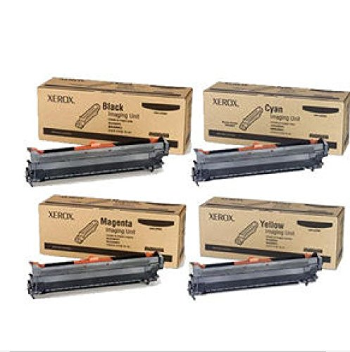 Phaser 6700 Genuine Xerox Imaging Unit Value Pack, Black, Cyan, Magenta, (Genuine Value Pack)
