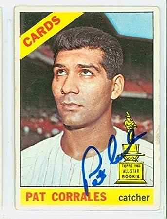Louis Cardinals Baseball Card 1966 Topps #137 Pat Corrales St