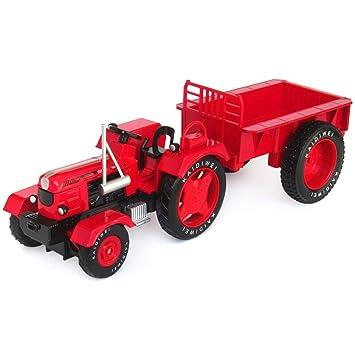 SXET-Coche modelo Modelo de Car Die Casting Modelo de Aleación Retro Tractor Modelo de