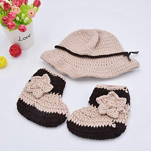 afc38142d0bb Memorz Newborn Infant Girl Boy Baby Handmade Crochet Knitted Costume ...