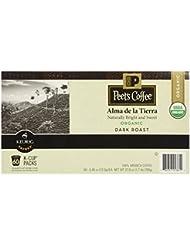 Peet S Coffee Organic Alma De La Tierra Dark Roast K Cup Packs 60 Count