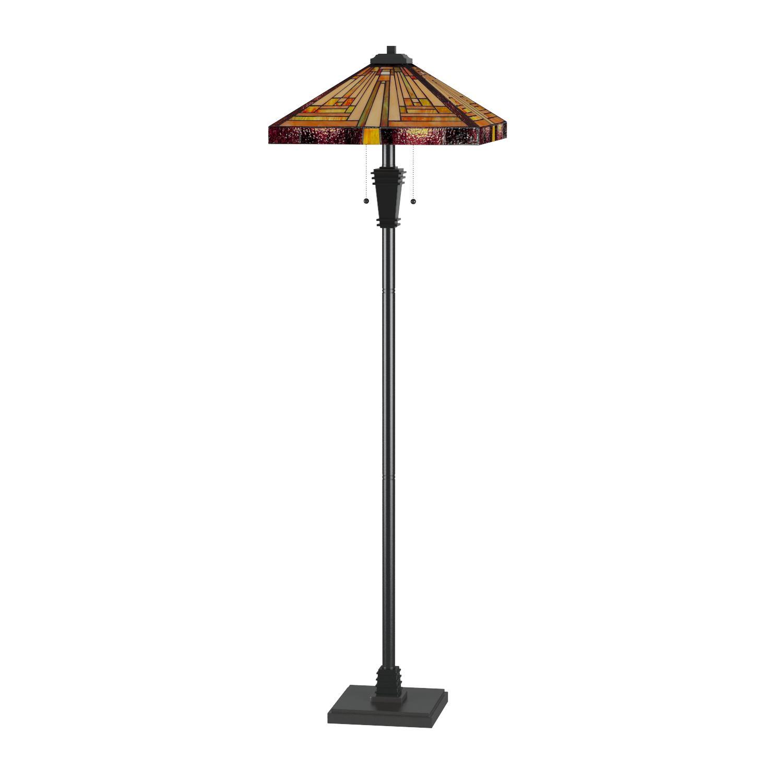 Quoizel TF885F Stephen Tiffany Mission Floor Lamp