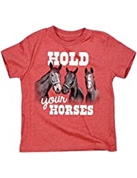 Air Waves Hold Your Horses -Toddler Short Sleeve TEE-2T