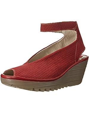 Women's Yala Perforated Wedge Sandal
