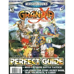 Price comparison product image Versus Books Official Perfect Guide for Grandia Xtreme