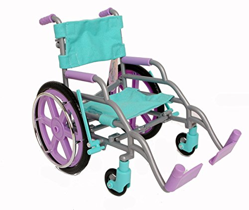 "My Life As Wheelchair Purple/Blue for 18"" Dolls"