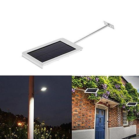 Ultra-thin Waterproof Solar Wall Street Light 15LED Light Sensor Outdoor Garden (What Did Kanye)