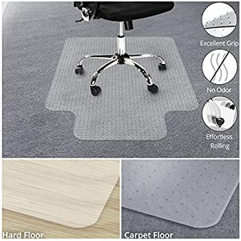 Amazon Com Office Marshal Chair Mat With Lip For Carpet