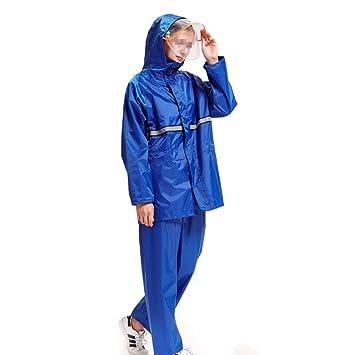 LAXF-Traje Impermeable Hombre Traje de Lluvia para Hombres y ...