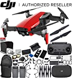 Cheap DJI Mavic Air Drone Quadcopter (Flame Red) 2-Battery Ultimate Bundle