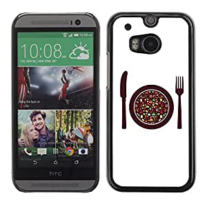 Carcasa Funda Case // V0000725 Food Vector Elements Menu //HTC ONE M8
