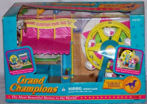 Grand Champions Fair Day Fantasy Deluxe Micro Mini Playset