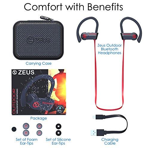 Bluetooth Headphones Wireless - Mens Womens Running Headphones - Best Sports Wireless Earbuds Earphones - IPx7 Wireless In-ear Headphones - Sport Bluetooth Headphones for Women Men (up to 10 Hours) - Image 7