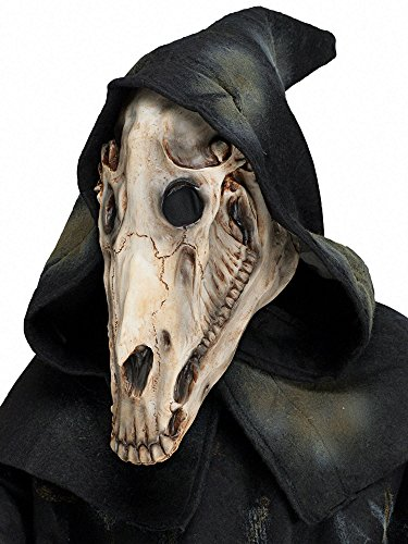 Adult Horse With Elastic Mask (Horse Skull Hooded Mask)