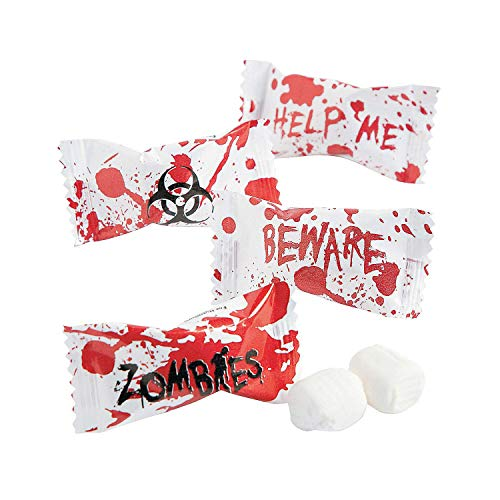 Zombie Party Halloween Favors - Candy Buttermints - 108 pcs for $<!--$5.99-->
