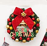 Christmas decorations 4050/60/80cm Christmas wreath decorations christmas shop window decoration (40CM)