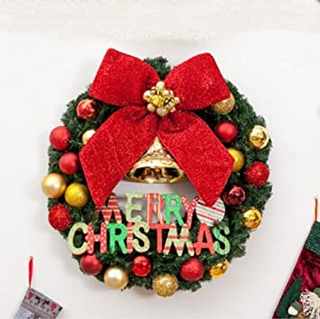 christmas decorations 40506080cm christmas wreath decorations christmas shop window decoration 50cm