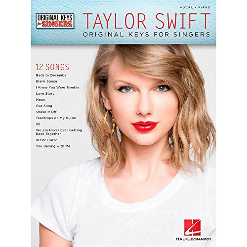 Hal Leonard Taylor Swift - Original Keys For Singers