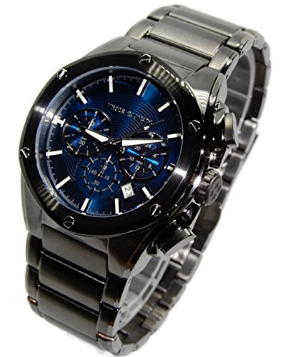 Vince Camuto Men's Gunmetal Stainless Steel Chronograph Watch! VC/1065NVDG
