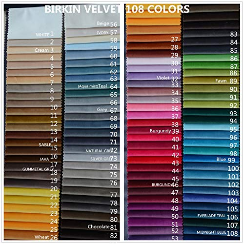 Saba Collection - Macochico Voilet Fabric Samples Swatches(1 Fabric),Saba Collection. (Quantity of Your Purchase reaches 5, The Price Will be Automatically Reduced to $19.99.)