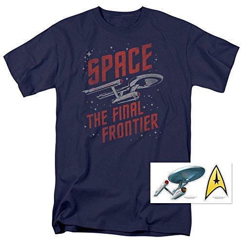 Star Trek Space The Final Frontier T Shirt