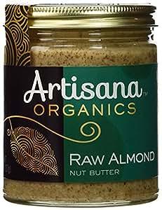 Artisana Organics - Almond Nut Butter, Single Ingredient Handmade Rich & Thick Spread, USDA & QAI Organic Certified, Non-GMO, Vegan & Gluten Free (8 oz)