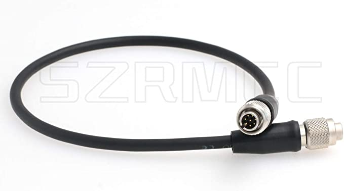 SZRMCC Female BNC and Input DC 5.5mm x 2.1mm to Hirose 12 pin Female Y Split Video Power Cable for Sony Industrial Camera
