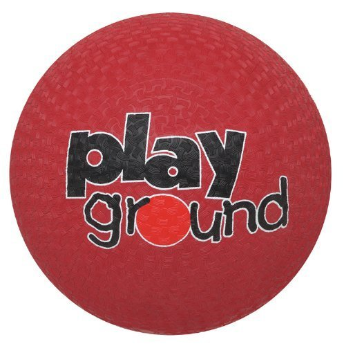Baden Rubber 8.5-inch Playground Ball, ROT by Baden
