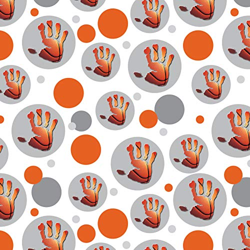 GRAPHICS & MORE Hand Print Basketball Get a Grip Premium Gift Wrap Wrapping Paper Roll for $<!--$19.99-->