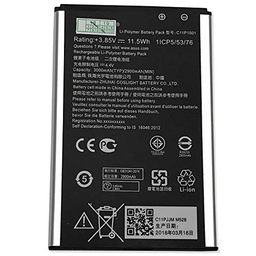 CBK Replacement Battery C11P1501 for Asus ZenFone 2 Laser 6.0 ZE601KL ZE551KL ZD551KL ZE550KL