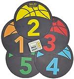 Basketball Equipment Best Deals - SKLZ Shot Spotz - Basketball Training Markers