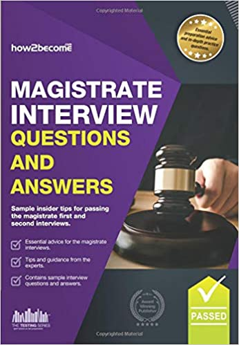 Magistrate Interview Questions: Sample insider tips for