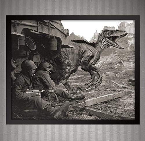 ied Troops WWII - Alternate History - 8x10 Print ()