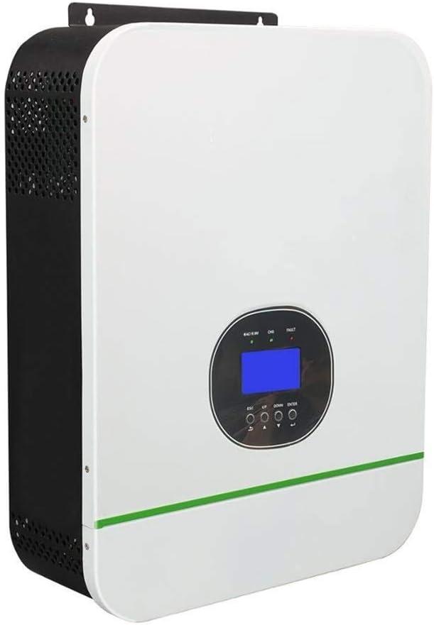 GNY 3000W Pure Sine Wave Solar Hybrid Inverter MPPT 80A Controlador Solar 24vdc Battery 110VAC Salida para una Entrada PV máxima de 145V (Input Voltage : 24V Battery, Output Voltage : 110 120VAC)