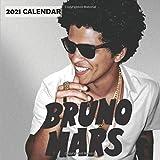Bruno Mars 2021 Calendar: 12 Months 2021 wall