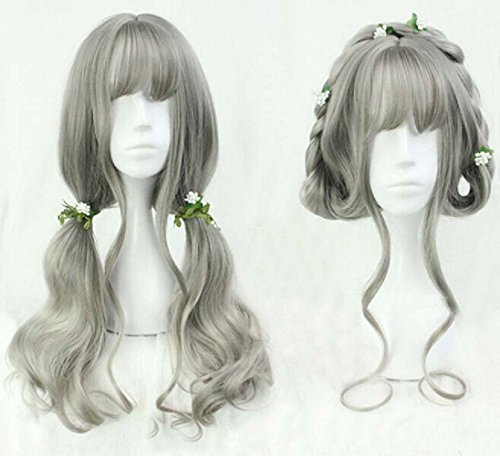 Women-Girls-Harajuku-Sweet-Lolita-Wig-Super-Natural-Club-Costume-Party-Daily-Hair-with-Wig-Cap