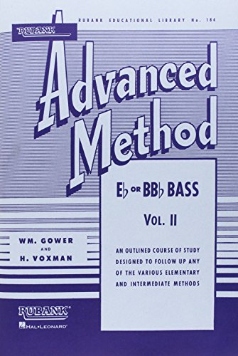 Vol 2 Tuba - Rubank Advanced Method, Vol. 2 - Bass/Tuba (B.C.)