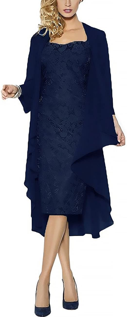 Rachel Weisz Lace Grosse groessen Brautmutterkleider mit Jacke Fuer Hochzeitskleider Festliche Kleider